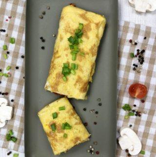 Omlet jajeczny z warzywami