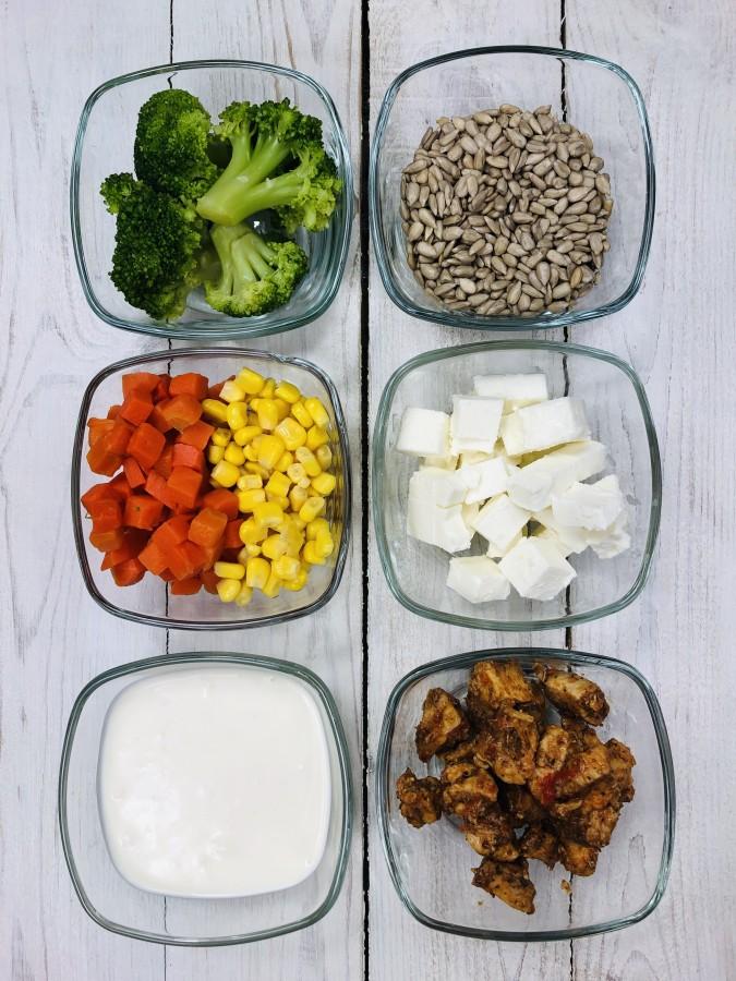 Salatka Warstwowa Z Kurczakiem I Brokulami Przepisy Na Widelcu