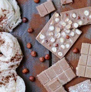 Fit czekolada z orzechami