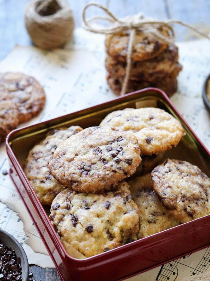 Ciasteczka z kawałkami czekolady - chocolate chip cookies