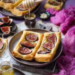 Ciasto francuskie z figami
